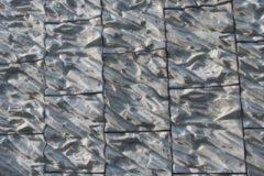 Murs de soutènement matricé : Contournement routier THONON LES BAINS. Matrice ® Thonon les Bains ® , matrice spéciale - Reckli.