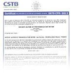Certificat du CPU éléments de structure linéaire