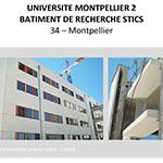 Université Montpellier 2 : Bâtiment de recherche STICS - MONTPELLIER