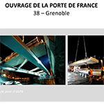 Ouvrage de la Porte de France - GRENOBLE