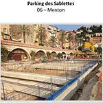 Parking des Sablettes - MENTON