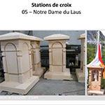 Stations de croix - NOTRE-DAME DU LAUS